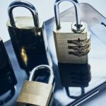 mobile PCI complaince- padlocks on smartphone
