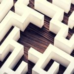 maze to represent tokenization